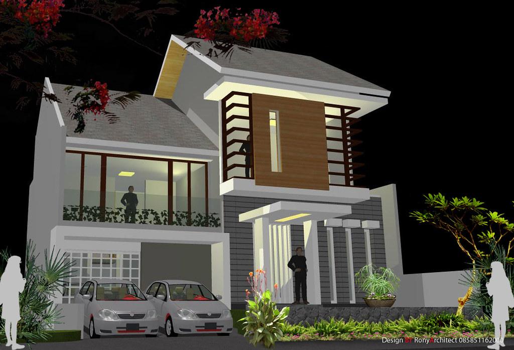 Rumah Minimalis Pak Kusno Di Jakarta A Photo On Flickriver