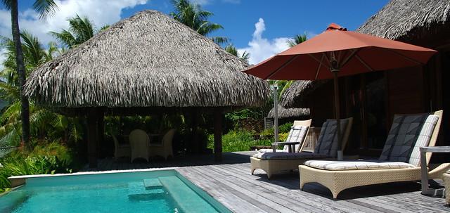 Four Seasons Resort Bora Bora Villa Pool