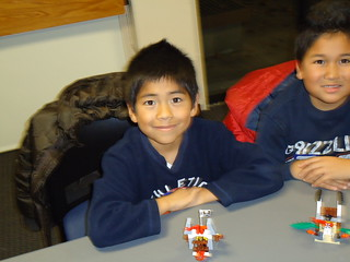 Lego Build It Program 12/3/10