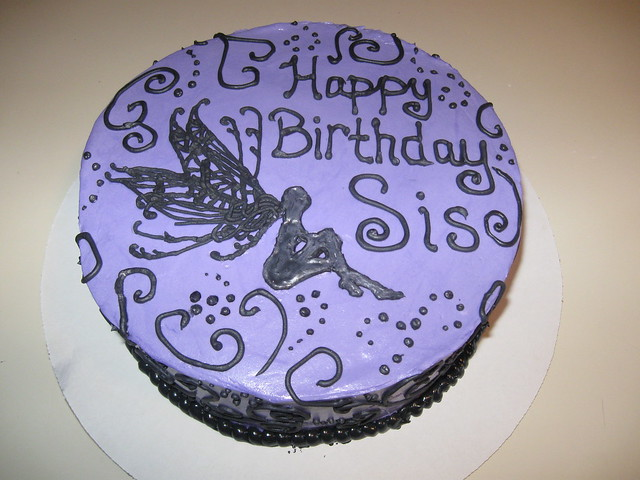 Happy Birthday Cake for my sister!  Flickr - Photo Sharing!