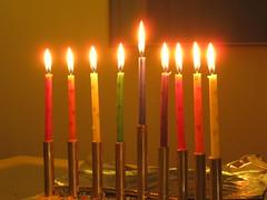 candle, candle holder, hanukkah,