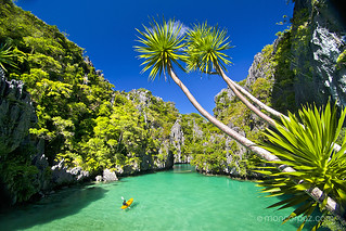 Small Lagoon, Miniloc Islands, Bacuit Bay, El Nido, Palawan