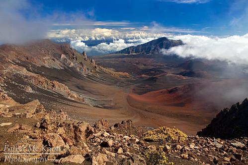 park sky mountain clouds island volcano hawaii rocks peak maui national haleakala crater summit tropical volcanic brianknott forgetmeknottphotography fmkphoto