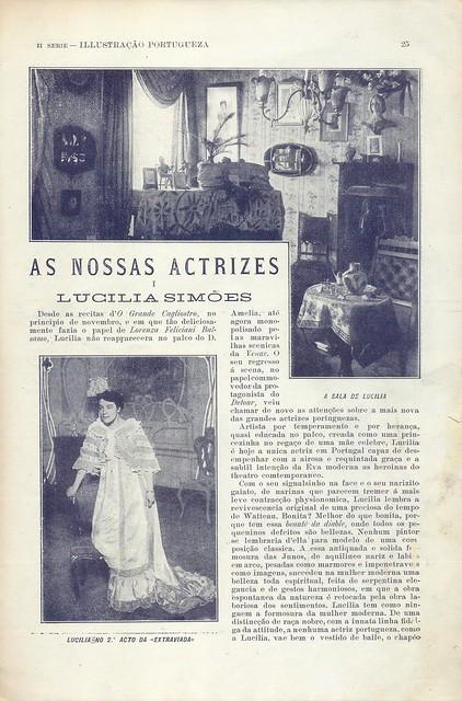 Ilustração Portugueza, 1900s - 21