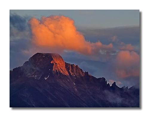 sunset colorado longspeak nationalparks rockymountainnationalpark