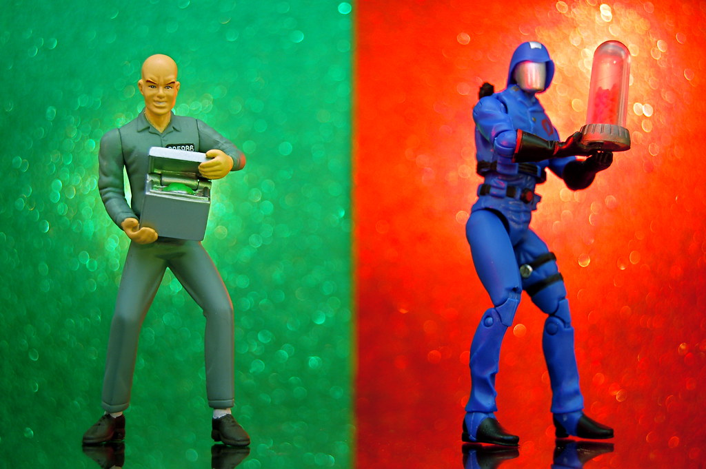 Lex Luthor vs. Cobra Commander (358/365)