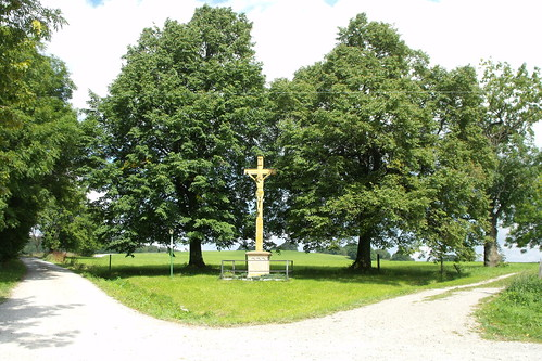 Wegkreuz am ehemaligen Mückenhof