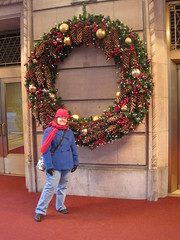 christmas decoration, christmas, wreath,