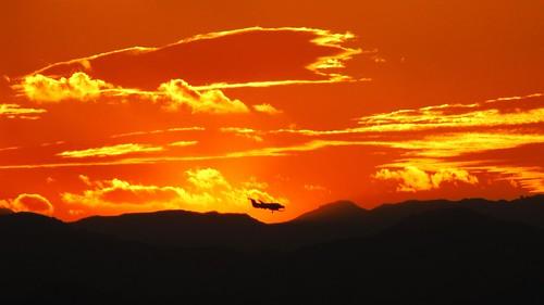 travel sunset newzealand summer sky landscape flying scenery nz northisland gisborne eastland