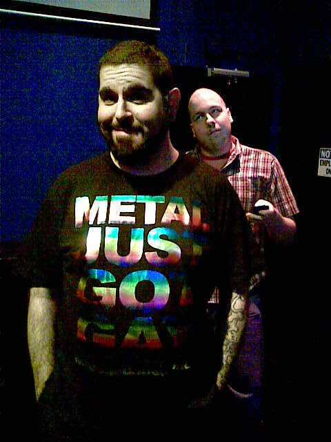 Metal just got gay. And hot am I right?