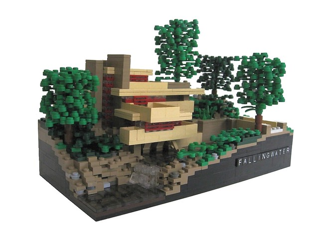 Modern houses great lego architecture a gallery on flickr - Lego falling waters ...