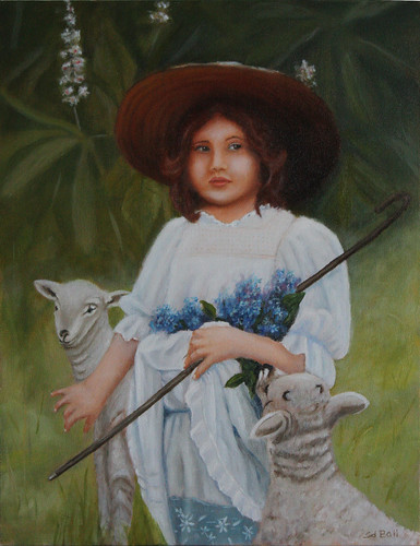 Little Bo Peep by Sid's art