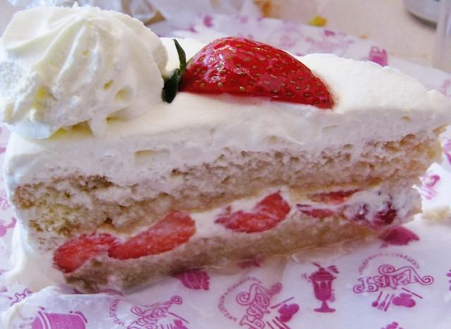 Patsy strawberry whipped cream cake | Flickr - Photo Sharing!