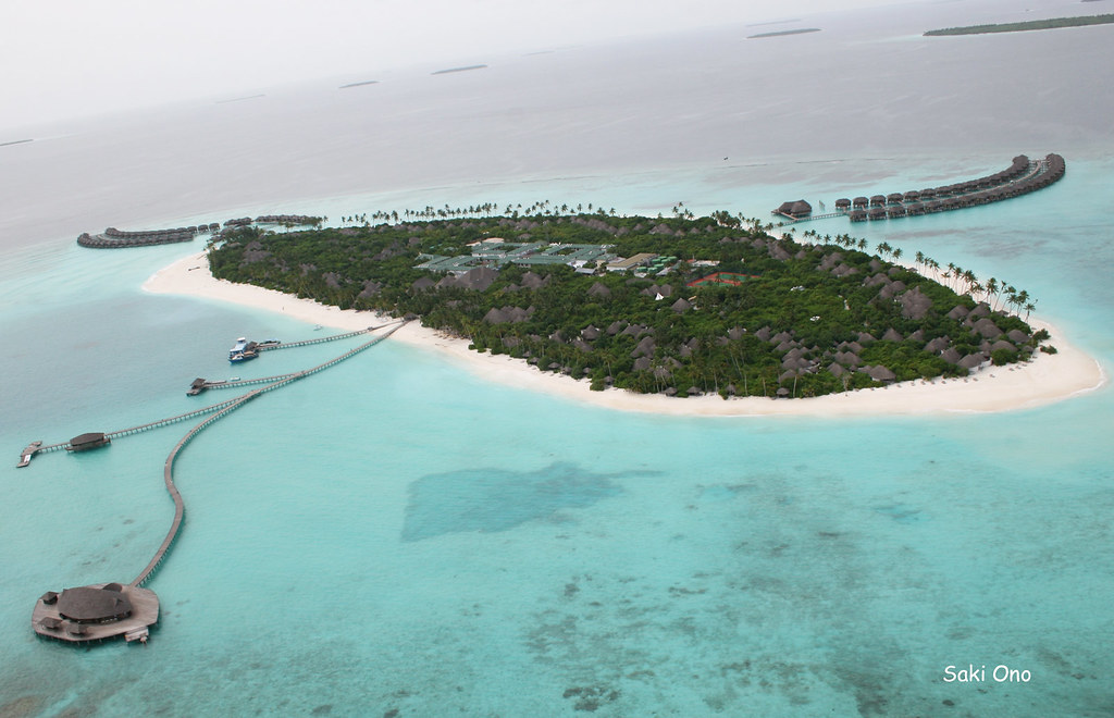 Island aerial view