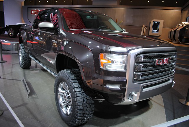 2011 Detroit: GMC Sierra All-Terrain HD Concept