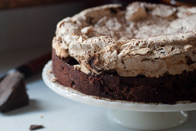 Chocolate Cake with Hazelnut Meringue | Flickr - Photo Sharing!