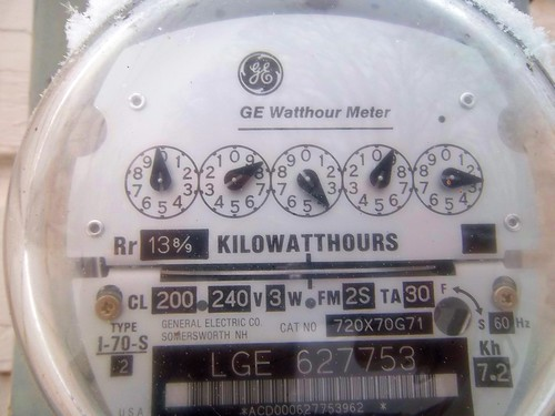 11/365 Electric Meter