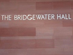 The bridgewater hall - manchester