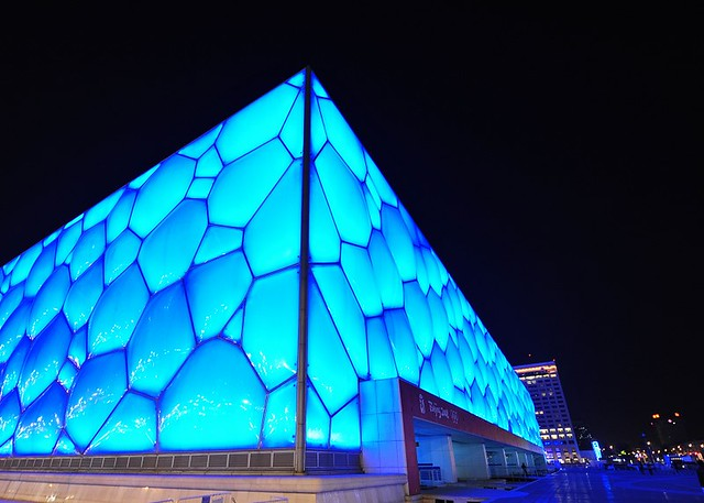 "The ""Water Cube"", Beijing Olympic Village"