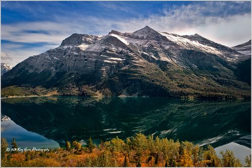 Elevation Of Lower Saint Mary Lake Montana Usa