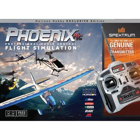 Esprit. Phoenix RC Pro 4.0 Flight Simulator with DX5e Transmitter. Коммен