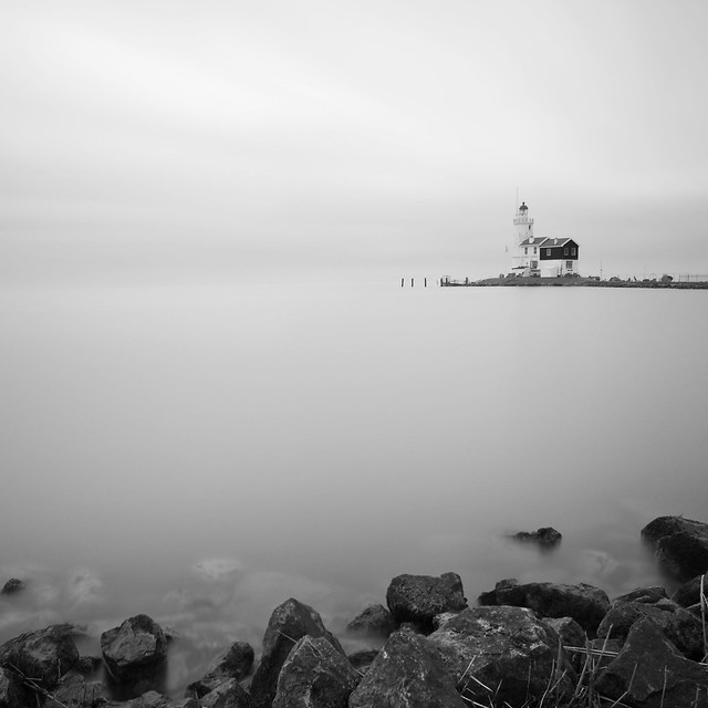 White water lighthouse