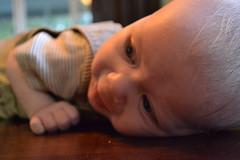 child, hand, nose, infant, crawling, finger, skin, head, limb, close-up, person, toddler, eye, organ,