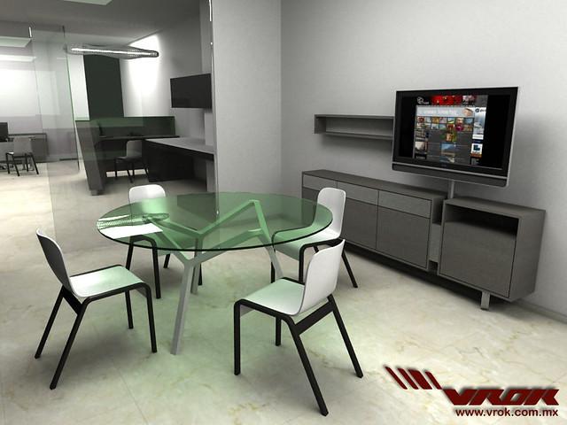 Dise o de oficina y sala de juntas mobiliario vrok mesa for Mobiliario diseno oficina