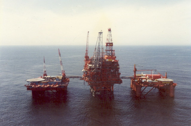Agip/UK Tiffany Oil Platform North Sea 1994