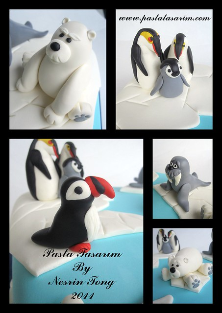 POLAR ANIMAL CAKE - KADIR BIRTHDAY