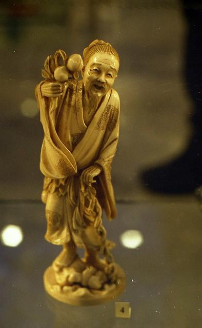 Personage of fairy tale, ivory carve - Сказочный персонаж, слоновая кость