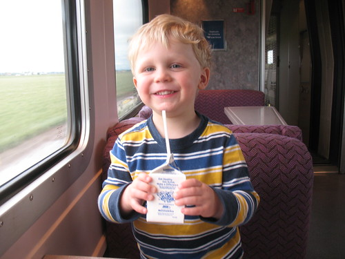 Milk on Train