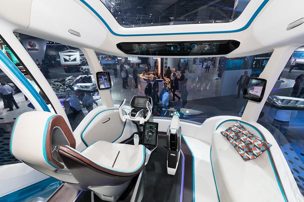 в кабине Iveco Z Truck