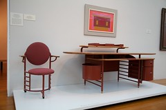 Desk and Chair by Frank Lloyd Wright - 1936