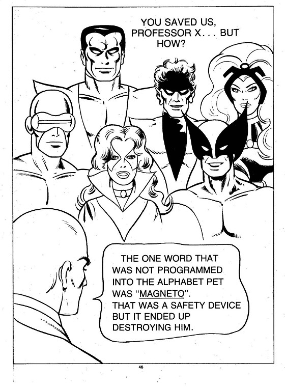 X-Men Super Activity Book00047