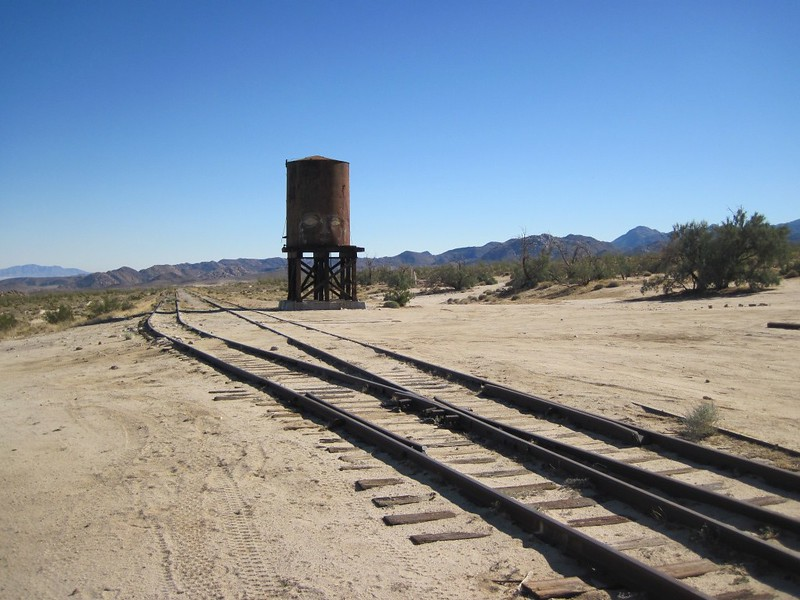 Dos Cabezas Water Tank, which used to supply steam engines with water