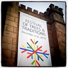 Festival Banner on the façade of @TheWadsworth