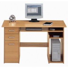 Computer desk with storage from Jahnke