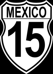 Mexico Federal Highway 15