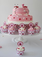 Torta y cupcakes tematicos