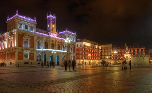 Plaza Mayor, Valladoli...