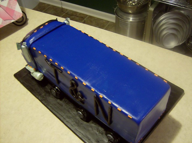 Tractor Trailer Birthday Cake 2 | Flickr - Photo Sharing!