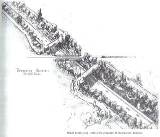Dumbarton rail underpass (1940)