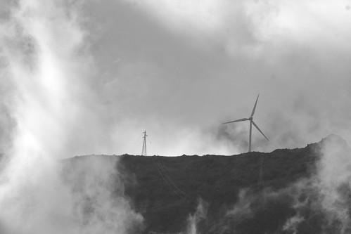 Wind Turbine & Clouds