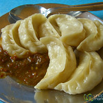 Steamed Veggie Momos - Darjeeling, India