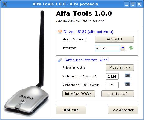 Alfa Usb Adapter Awus036h Driver