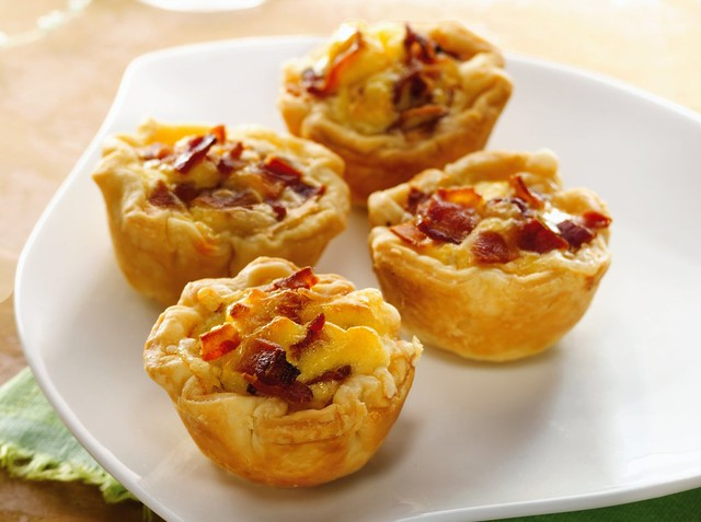 Mini Bacon Cheese Cups Recipe | Flickr - Photo Sharing!