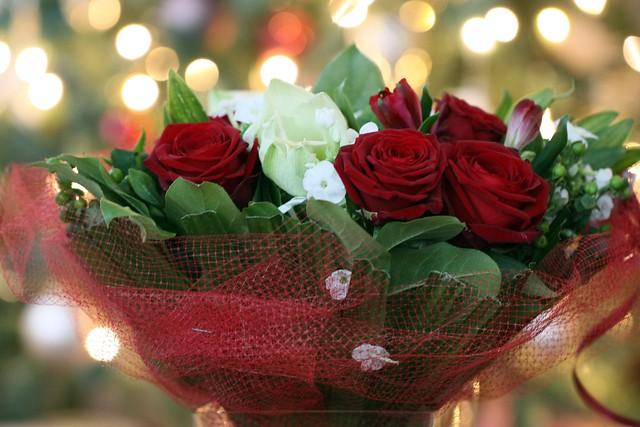 D356 365 20th Wedding Anniversary Bouquet Bokeh Flickr Photo