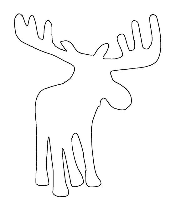 moose outline
