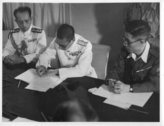 Signing the Surrender at Penang